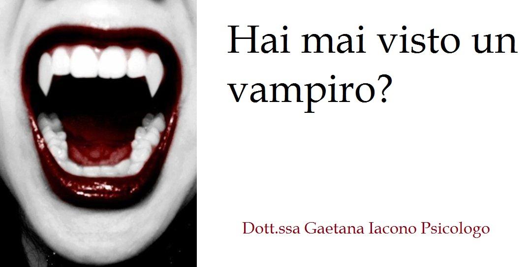 bocca di un vampiro